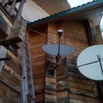 """Спутниковый Интернет (VSAT) + Спутниковое ТВ, база отдыха """"Беляна"""", Астраханская обл."""
